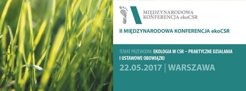 konferencja ekoCSR