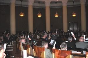 14.04.2003 - głosowanie w PKiN powołujące Polską Izbę Gospodarki Odpadami